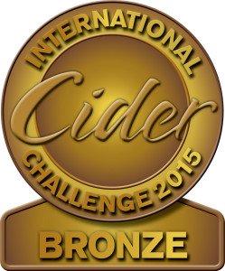 International cider challenge - Bronze